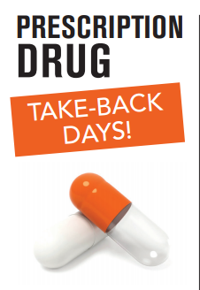 Prescription Drug Take Back October 2019