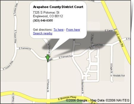 District Court Google Map